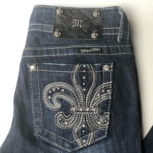 Miss Me Embellished Bootcut Jeans size 27